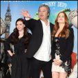 Abigail Breslin, Gore Verbinski et Isla Fisher lors du photocall du film Rango le 22 février 2011 à Londres