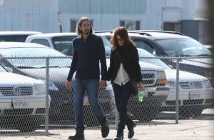 Lisa Edelstein : Promenade complice avec son chéri, qu'elle nous avait caché !