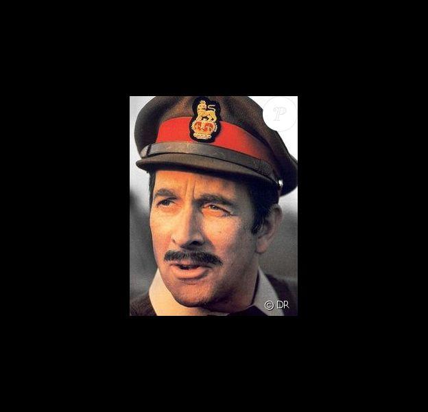 Nicholas Courtney alias le Brigadier dans Docteur Who (1965-1989)