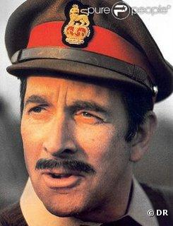 Nicholas Courtney alias le Brigadier dans  Docteur Who  (1965-1989)