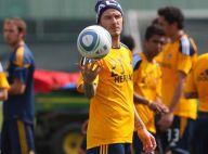 David Beckham : Le futur papa retrouve sa place au soleil !