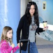 Courteney Cox, la mine affreuse, change d'air avec sa fille Coco !
