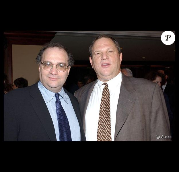 Bob et Harvey Weinstein, en 2003.