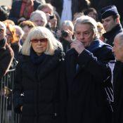 Obsèques d'Annie Girardot : Le chagrin d'Alain Delon, Claude Lelouch...