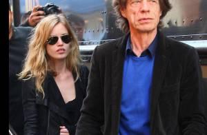 La superbe Georgia May Jagger, 18 ans, se balade avec son papa... Mick Jagger !