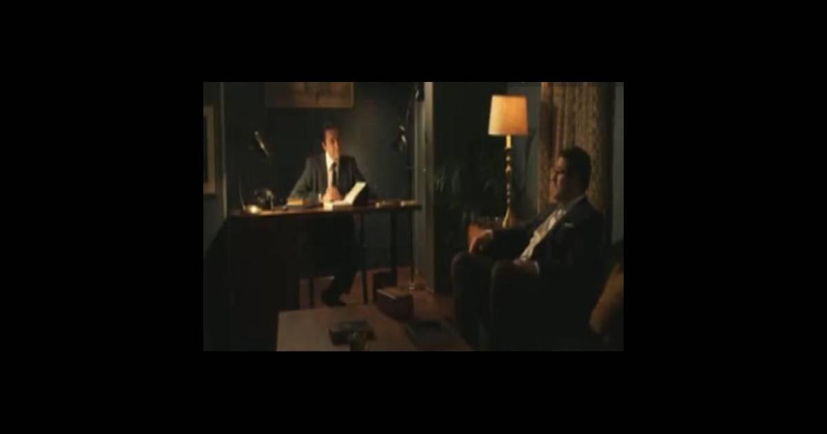 vincent kartheiser et rich sommer deux h ros de mad men se donnent la r plique dans une pub. Black Bedroom Furniture Sets. Home Design Ideas