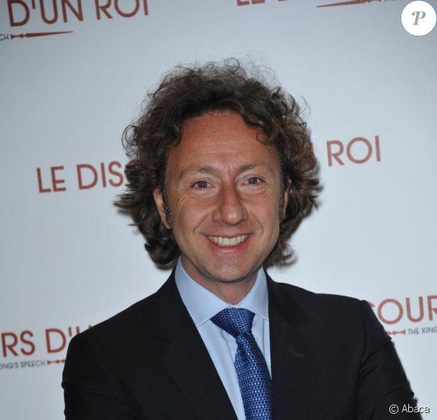 Stéphane Bern, au cinéma UGC Ciné-Cité Bercy à Paris, en janvier 2011.