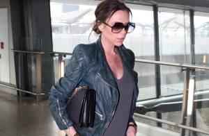 Victoria Beckham : Enfin enceinte d'une fille, mais où cache t-elle son ventre ?