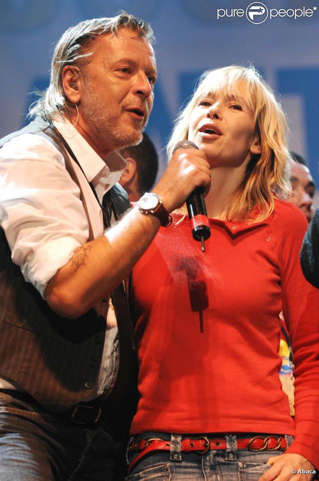 Renaud et Romane au Zénith de Paris en novembre 2007.