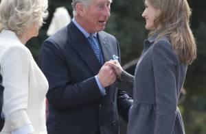 Letizia d'Espagne : Opération séduction sur le prince Charles, devant Camilla !