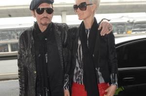 Johnny Hallyday et Laeticia : Retour à Los Angeles après 15 jours de folie...