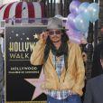 Penélope Cruz reçoit le soutien de Johnny Depp au moment de recevoir son étoile sur le fameux Walk of Fame sur Hollywood  Boulevard, le 1er avril à Hollywood.