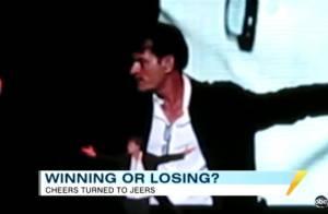 Charlie Sheen a trouvé un public compatissant pour son spectacle !