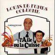 Coluche et Louis de Funès, héros de L'aile ou la cuisse (sorti en 1976)