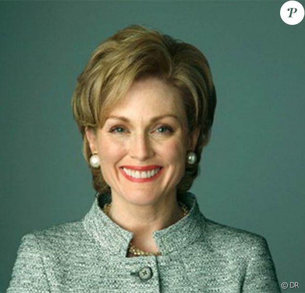Julianne Moore dans la peau de Hillary Clinton pour la chaîne NBC.