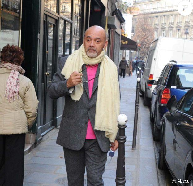 Christian Louboutin, Paris, le 5 mars 2011.