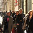 Christian Louboutin et Blake Lively, Paris, le 5 mars 2011.
