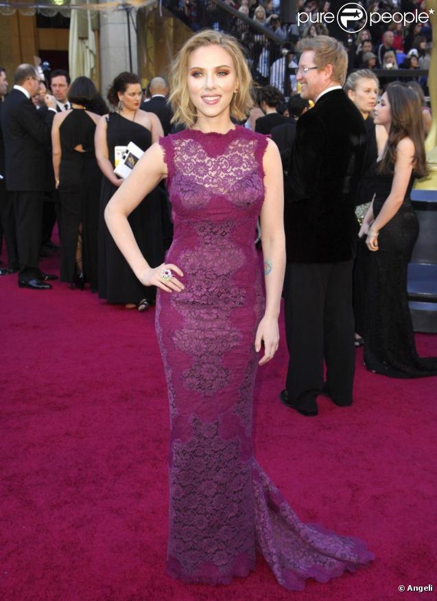 Scarlett Johansson en février 2011.