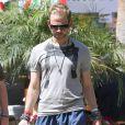 Dominic Monaghan au festival de Coachella, en Californie, le samedi 16 avril 2011.