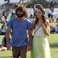 Isabel Lucas et Angus Stone au festival de Coachella, en Californie, le samedi 16 avril 2011.