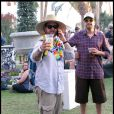 Jack Osbourne au festival de Coachella, en Californie, le samedi 16 avril.