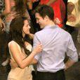 Robert Pattinson et Kristen Stewart sur le tournage de Twilight 4 au Brésil