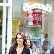Kate Middleton : Décolletée, mincissime, un shopping de charme en public !