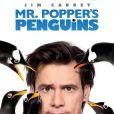 L'Affiche de Mister Poppers's Penguins, un film qui s'annonce poilant, avec Jim Carrey et six pingouins. Le 20 juillet sur nos écrans