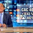 Journal télévisé de 13 heures du vendredi 22 avril 2011 -jean-Pierre  Pernaut annonce les volumes d'échanges de la Bourse de Paris, qui est...  fermée !