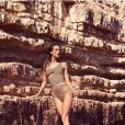 Alessandra Ambrosio a pris la pose pour les maillots Koton