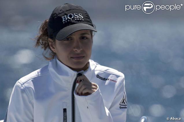 Maria Francisca Perello, dite Xisca, voguait au large de Majorque dimanche 24 janvier 2011 tandis que son chéri, Rafael Nadal, disputait avec succès la finale de l'Open de Barcelone !