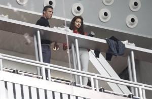 Irina Shayk et Cristiano Ronaldo puni, assistent à l'humiliation du Real...