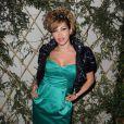 Ysa Ferrer très en beauté à la soirée organisée à la boutique Escada, à Paris, le 2 mai 2011.