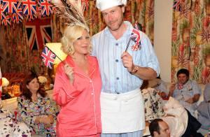 Tori Spelling, enceinte et en pyjama, célèbre le mariage du prince William !