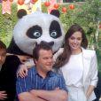 Angelina Jolie et Jack Black en promotion pour Kung Fu Panda 2, le 14 avril 2011