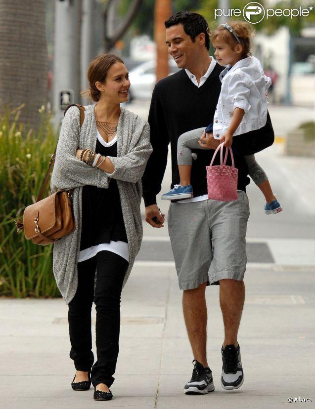 Jessica Alba et Cash Warren à Beverly Hills, le 7 mai 2011