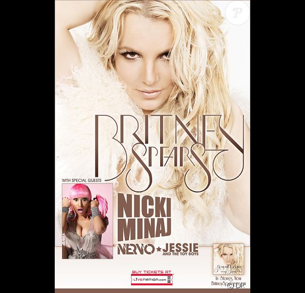 Britney Spears entame sa tournée Femme Fatale le 16 juin à Sacramento (USA).