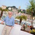 Woody Allen lors du photocall de Minuit à Paris le 11 mai 2011 au festival de Cannes