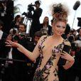 Elena Lenina lors de la première projection du 64e Festival de Cannes, le mercredi 11 mai 2011.
