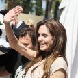 La superbe Angelina Jolie à l'occasion du photocall de  Kung Fu Panda 2 , dans le cadre du 64e Festival de Cannes, le 12 mai 2011.