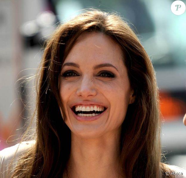 La superbe Angelina Jolie à l'occasion du photocall de Kung Fu Panda 2, dans le cadre du 64e Festival de Cannes, le 12 mai 2011.