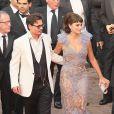 Pénelope Cruz et Johnny Depp, magnifique couple... de cinéma ! Le 14 mai 2011, pour la montée des marches du 4e volet de Pirates des Caraïbes.