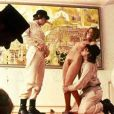 Des images d' Orange Mécanique , sorti en 1971, et qui ressort en 2011.