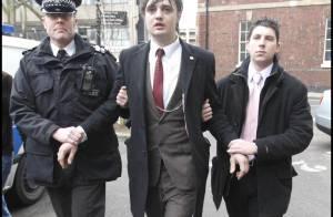 Pete Doherty condamné à 6 mois ferme : il dort ce soir en prison !