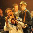 Catherine Ringer vient d'entamer une grande tournée. Ici à La Cigale, à Paris, le 22 mai 2011.