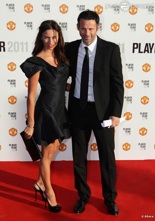 Ryan Giggs couple