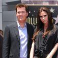 Victoria Beckham lors de l'hommage sur le Walk of Fame à Hollywood de Simon Fuller le 23 mai 2011