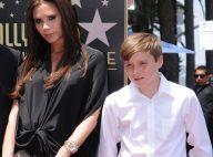 Victoria Beckham, enceinte, avec son fils aîné Brooklyn pour un hommage étoilé !