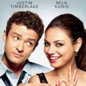 La craquante Mila Kunis aime l'amour avec son meilleur ami, Justin Timberlake...