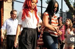 Rihanna : Elle s'habille (un peu) pour une sortie entre filles !